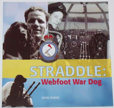 Straddle: Webfoot War Dog, by John Evans
